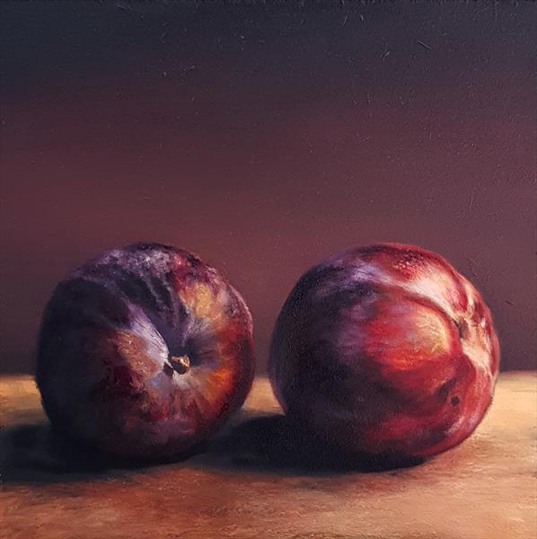 Two Plums by Sarah Eden