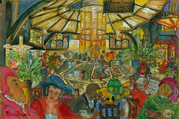 CAFE NOIR by Patricia Edith Mary Thompson