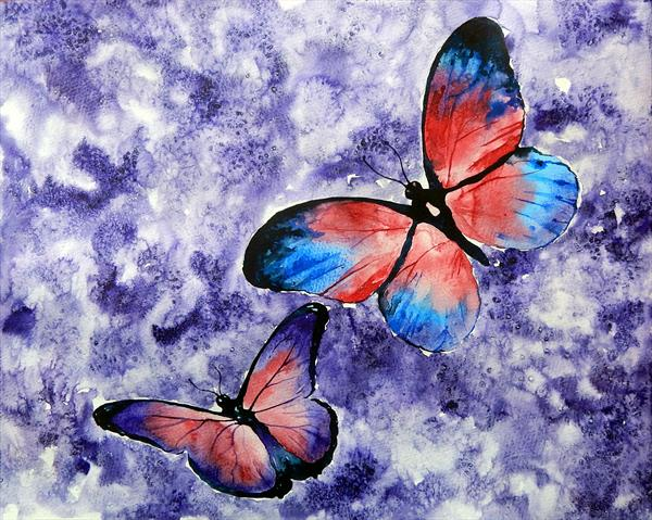 Butterflies by Richard Freer