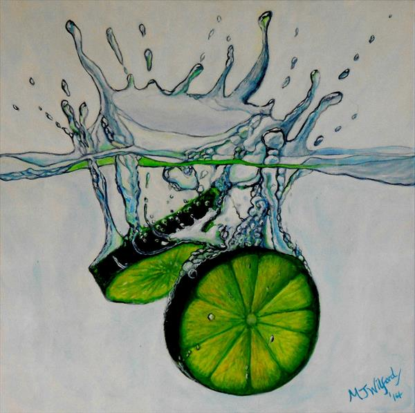 Lime Splash by Marion Wilford