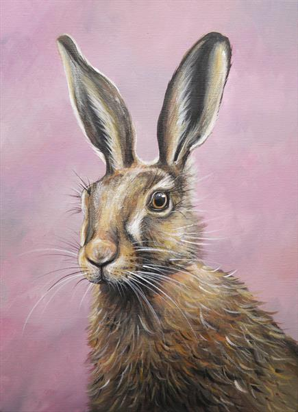 Brown Hare by Sarah Featherstone