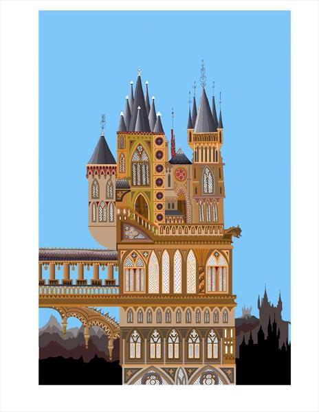 Gothic Towers by Stephen Williams