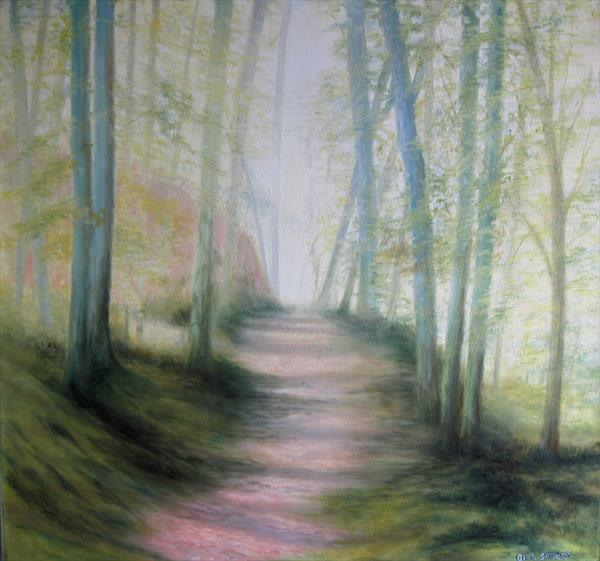 Spring Walk by Gill Stokes