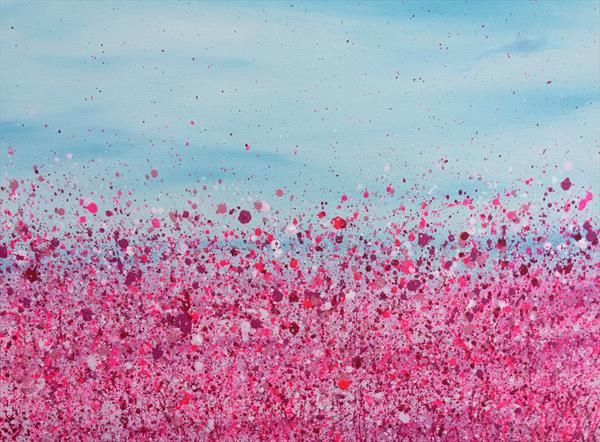 Wave of Fuchsia by Lucy Moore