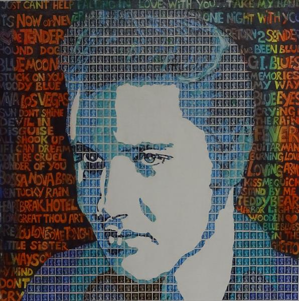 Elvis - The Wonder of You by Peter Mason