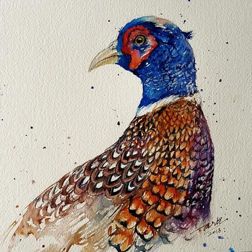 Bobby the Pheasant by Arti Chauhan