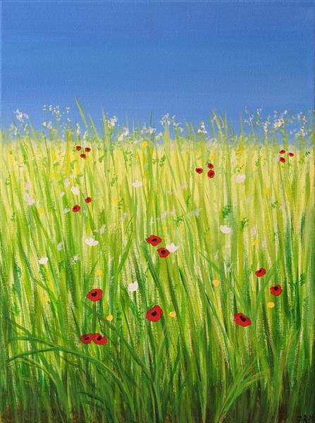 Summer Meadow by Jacqueline Moore