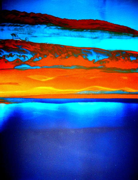 'Sunset Seas' by Nora Doherty