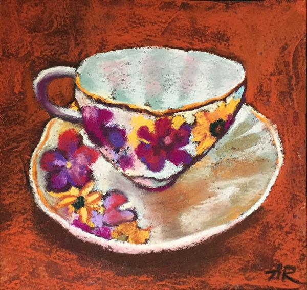 Cup and Saucer by Alena Rumak