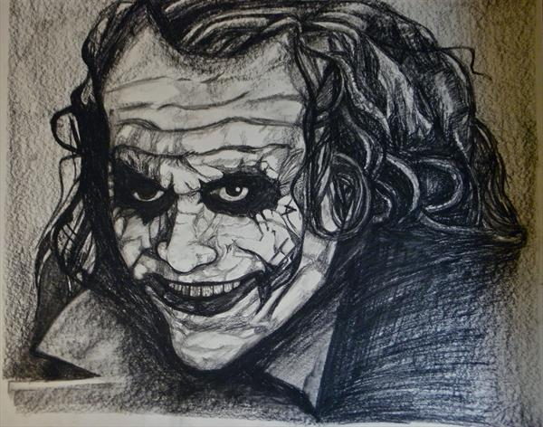 The Joker: Are You Scared? by Edward Sheldrick