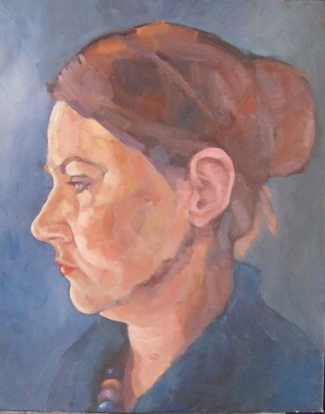 Portrait of Young Woman by Mike Bagshaw