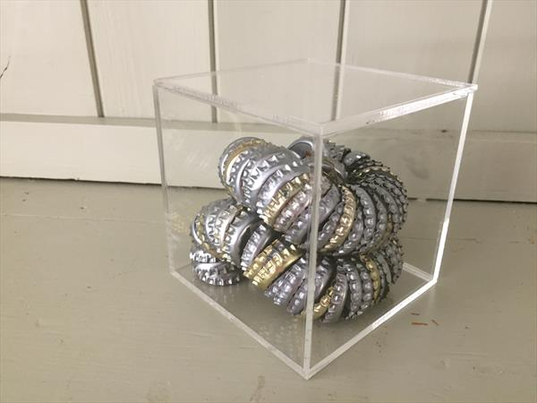 Bottle top coil No. 3 by Tanya Heal