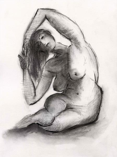 Nude 1 by Paul Oughton