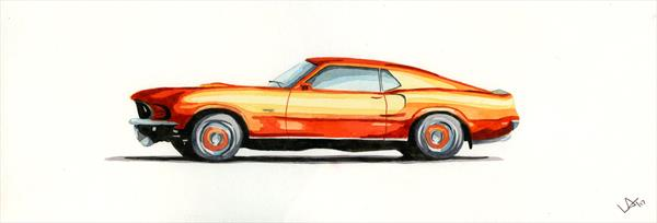 Ford Mustang  by Leigh  Townsend