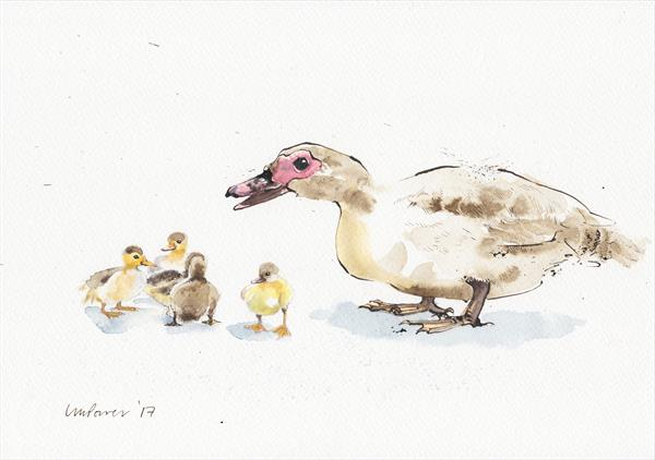 Mother Duck by Luci Power