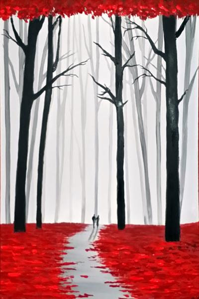 Red Forest Walk