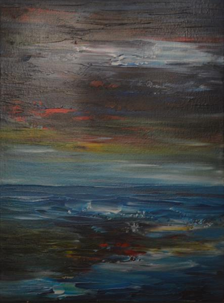 Seascape by Robert Cadman