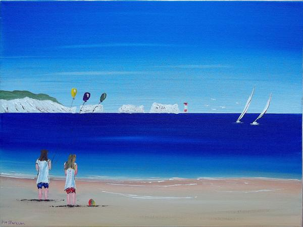A Day At the Beach. by Peter Stevenson