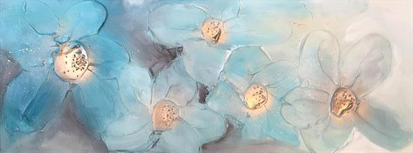 Moody Blues Floral by Kerry Bowler