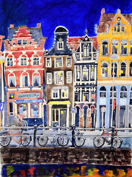 Amsterdam by Jo KC Ellis