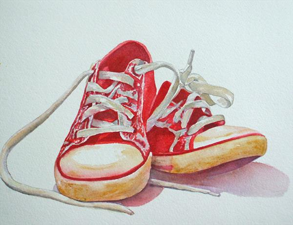 Sneakers by Maureen Crofts