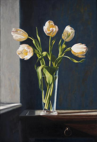 White Tulips by Andrew Mcneile Jones