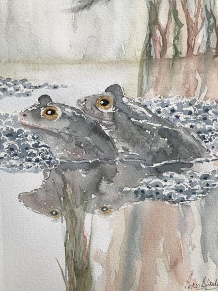 Pond mate by Peter Blake