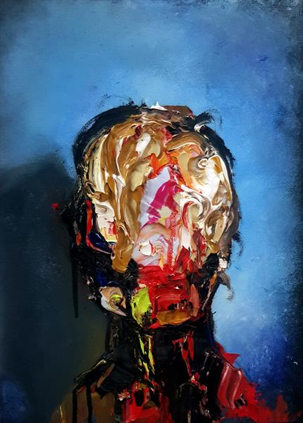 No Face no.1 by Innes Mcdougall