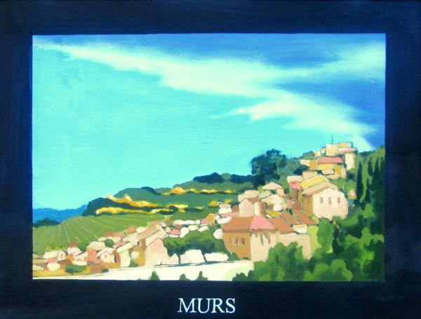 Murs en Luberon by Paul O' Dell