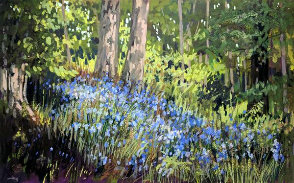 Culzean Bluebells by Tracy Butler