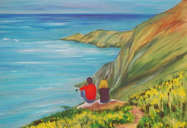 Looking out over the Bay by Susan Temperley