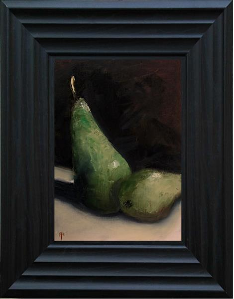 Two Pears by Alan  Harris