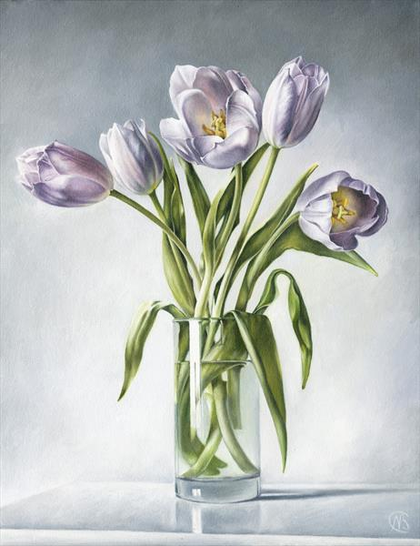 The Tulips by Natalia Beccher