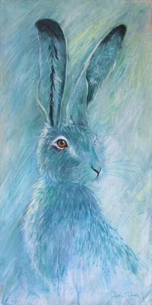 Hare Apparent.. by Carolyn Towers