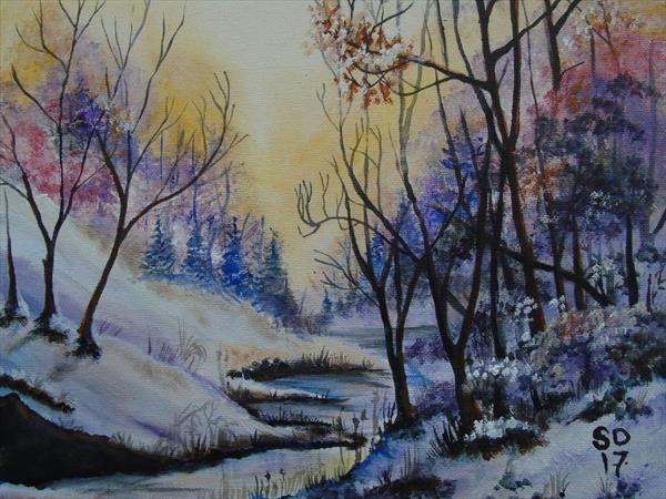 The first snow of winter  by Super Cosmic