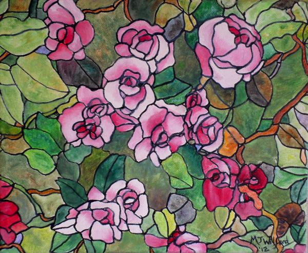 Rose Garden by Marion Wilford