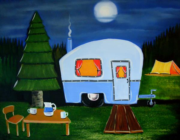 happy campers by Yvette Metcalf
