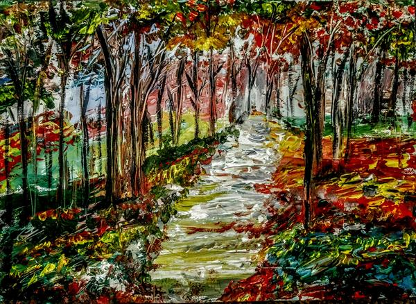 Autumn in Cannock Chase by Artistic Biplob (Asm Ambia)