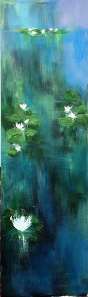 Waterlilies VII by Maxine Martin