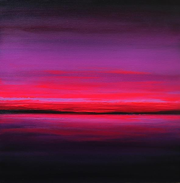 Purple Dusk of Twilight by Julia Everett