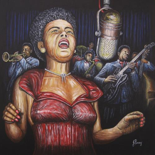 Lady Sings the Blues by John Penney