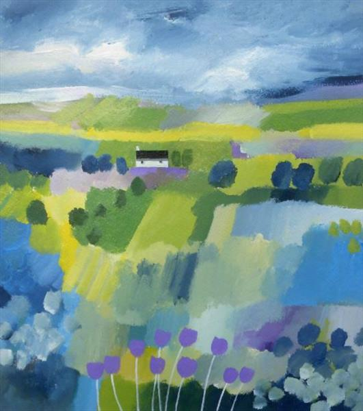 Summer Cottage 2 by Jan Rippingham