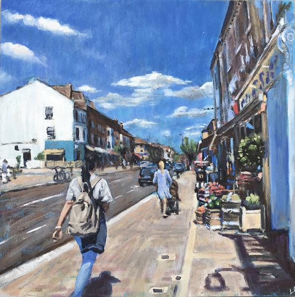 Northcote Road by Louise Gillard