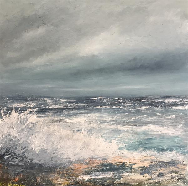 Stormy Sea by James D G  Lamond