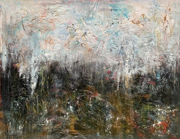 "47x37""( 120x95cm), Earth Song 2,"