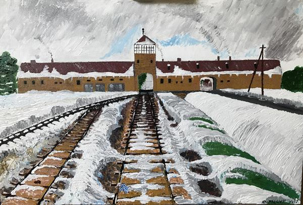 Auschwitz  by Colin Wraight