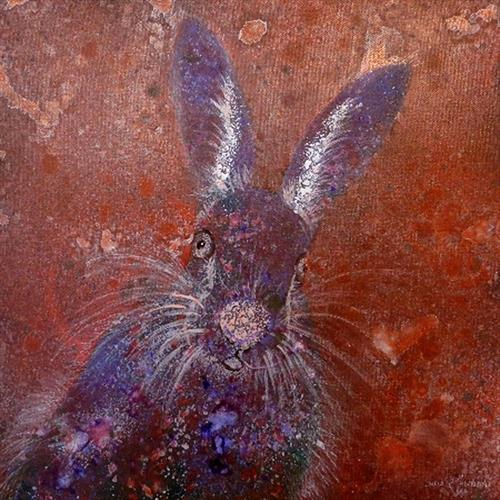 Purple Hare Day by Linda Tennant