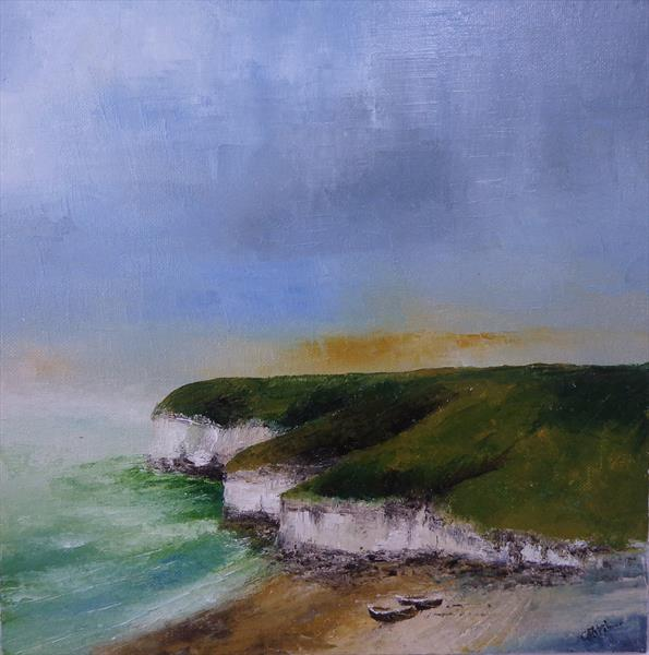 Flamborough North Landing 1 by Gary Kitchen