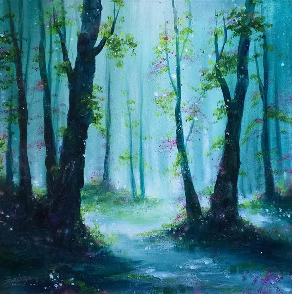 Woodland Blossoms No 2 by Jennifer Taylor