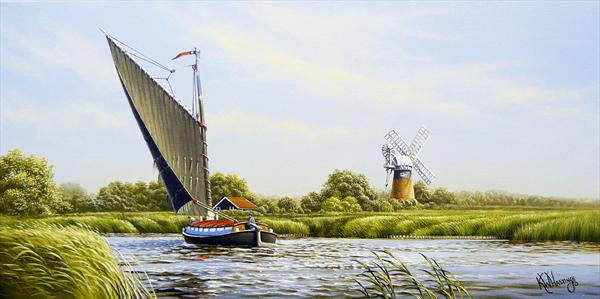 Wherry on the river Bure